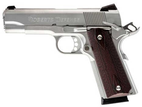 "Roberts Defense Super Grade Pro 45 ACP 5"" Barrel 8 Round Stainless Steel Semi Automatic Pistol SGPS45"