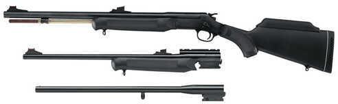 Rossi Matched Set 12 Gauge/22 Long Rifle/50 Caliber Single Shot Matte Blue Blemished Break Open Shotgun/Rifle ZS122250M