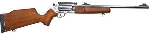 """Rossi Circuit Judge 45 Colt/410 Gauge 18.5"""" Barrel Stainless Steel Hardwood Blemished Revolving Rifle ZSCJ4510SS"""