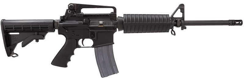 "Rock River Arms LAR-15 Tactical CAR A4 Ergo Semi-Automatic Rifle 223 Remington 16"" Barrel 30+1 Rounds 6 Position Black AR1201"