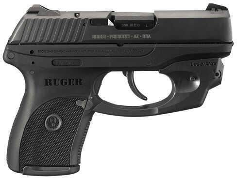 "Ruger LC380 380 ACP 3.1"" Barrel 7 Round Black LaserMax Semi Automatic Pistol 3231"
