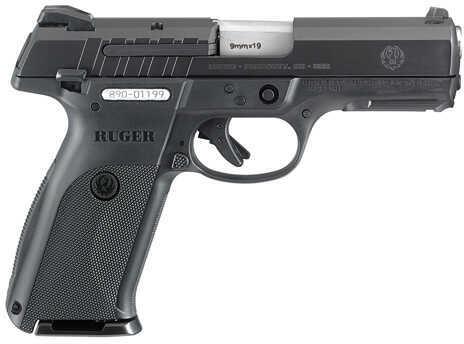 """Ruger SR9E Standard 9mm Luger 4.1"""" Barrel 17 Round Black Polymer Grip Blued Semi Automatic Pistol 3340"""