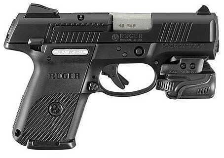 """Ruger Talo SR40C-CTL 40 S&W 3.5"""" Barrel 15 Round Crimson Trace Laser Black Semi Automatic Pistol 3481"""