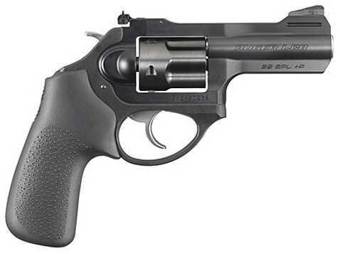 "Ruger LCR X 38 Special +P 3"" Barrel 5 Round Hogue Tamer Monogrip Black Revolver 5431"