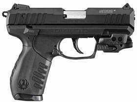 "Ruger SR22P 22 Long Rifle 3.5"" Barrel  10 Round  Crimson Trace Laser  Black  Semi Automatic Pistol 3601"