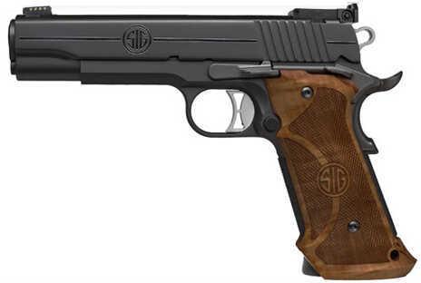 "Sig Sauer 1911 Super Target 45 ACP 5"" Barrel 8 Round Nitron Semi Automatic Pistol 1911-45-B-STGT"