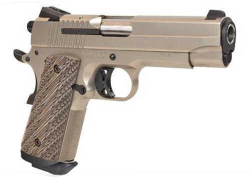 "Sig Sauer 1911 Carry Nickel 45 ACP 4.2"" Barrel 7 Round Nitron Nickel Semi Automatic Pistol 1911CO45NI"