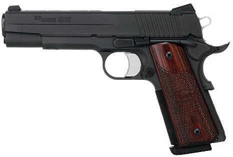 """Sig Sauer 1911 45ACP 5"""" Barrel 8 Round Black Finish Semi Automatic Pistol 1911F-45-BSS"""