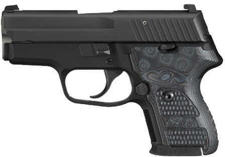 Sig Sauer P224 40 S&W Extreme Black Nitron SRT Hogue G10 Grip Semi Automatic Pistol 22440XTMBLKGRY