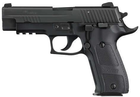 "Sig Sauer P226 Elite Dark 9mm Luger 4.4"" Barrel 10 Round Black CA Legal Semi Automatic Pistol 226R9DSECA"