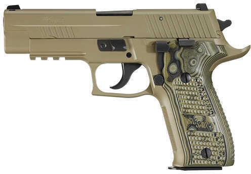 "Sig Sauer P226 Scorpion 9mm Luger 4.4"" Barrel 10 Round Flat Dark Earth Hogue Grip Semi Automatic Pistol 226R9SCPNCA"