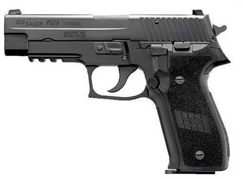 "Sig Sauer P226 357 Sig Sauer 4.4"" Barrel 10 Round 2 Magazines Nitron Black Night Sights MA Legal Semi Automatic Pistol 226RM357BSS"