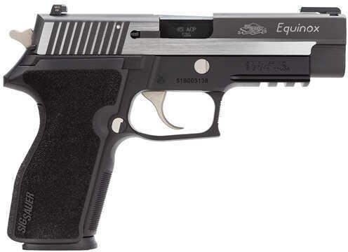 "Sig Sauer P227 Equinox 45 ACP 4.4"" Barrel 10 Round 2 Magazines Nitron Truglo TFO Semi Automatic Pistol 227R-45-EQ"