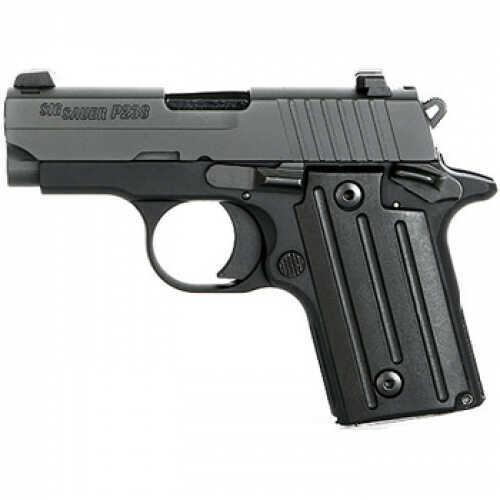 "Sig Sauer P238 380 ACP 2.7"" Barrel 6 Round Sig Laser Sight Black Frame Semi Automatic Pistol 238380BLSR"