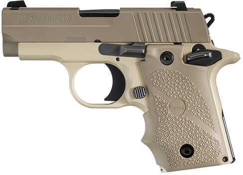 "Sig Sauer P238 Desert Tan 380 ACP 2.7"" Barrel 7 Round Hogue Grip Semi Automatic Pistol    238380DES"