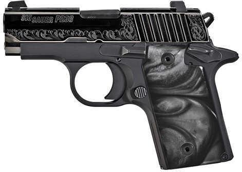 "Sig Sauer P238 380 ACP 2.7"" Barrel 6 Round Black Pearl Grip Nitron Finish Semi Automatic Pistol 238380ESB"
