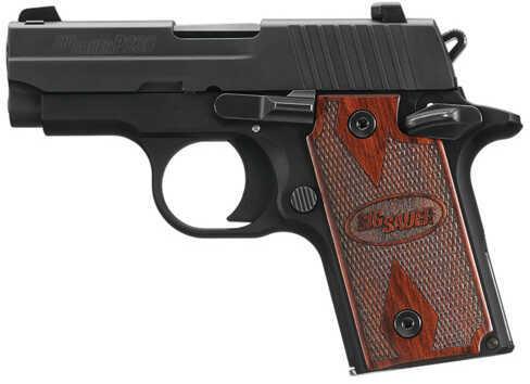 "Sig Sauer P238 380 ACP 2.7"" Barrel 6 Round Rosewood Grip Black Semi Automatic Pistol 238380RGAMBI"