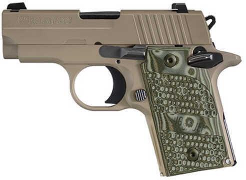 "Sig Sauer P238 Scorpion 380 ACP 2.7"" Barrel 6 Round Flat Dark Earth  Semi Automatic Pistol    238380SCPN"
