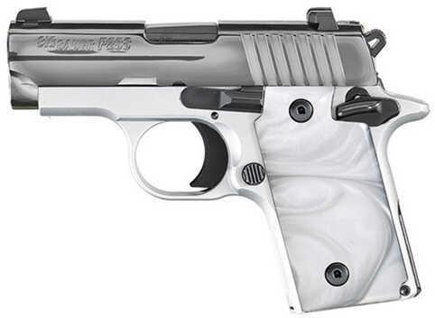 "Sig Sauer P238 Pistol 380 ACP 2.72"" Barrel 6 Round White Chrome Semi-Auto Pistol    238380WCR"