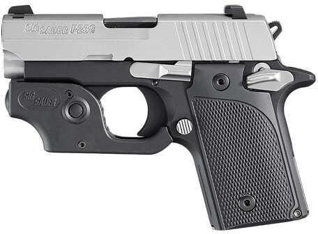 "Sig Sauer P238 380 ACP 2.7"" Barrel 6 Round Two Tone MA Legal Semi Automatic Pistol 238M380TL"