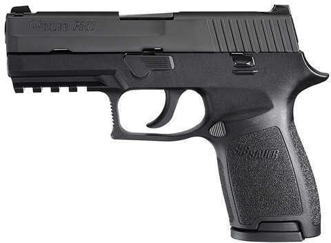 "Sig Sauer P250 357 Sig Sauer 3.9"" Barrel 10 Round Polymer Black MA Legal Semi Automatic Pistol 250C357BSSMA"