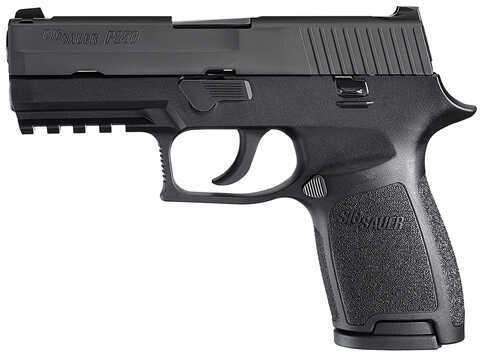 "Sig Sauer P250 40 S&W 3.9"" Barrel 10 Round Double Action Black Frame Semi Automatic Pistol 250C40BSSMA"