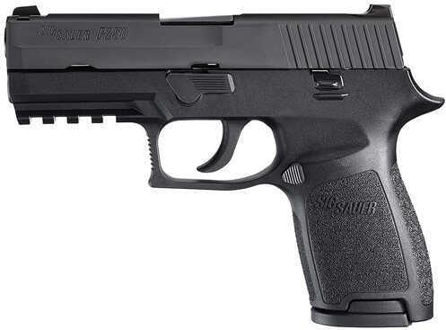 "Sig Sauer P250C 45 ACP 3.9"" Barrel 10 Round Night Sights Semi Automatic Pistol MA Compliant 250C45BSSMA"