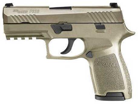 "Sig Sauer P320 9mm Luger 3.9"" Barrel 15 Round Flat Dark Earth Semi Automatic Pistol 320C9Flat Dark Earth"