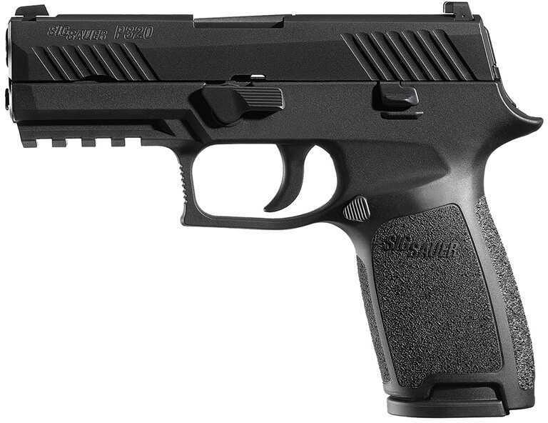 "Sig Sauer Sig P320 357 Sig Sauer Carry Striker 3.9"" Barrel  Black Nitron Slide Finish  14 Round  Semi Automatic Pistol 320CA357B"
