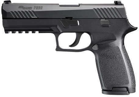 "Sig Sauer P320 40 S&W 4.7"" Barrel 14 Round Stainless Steel Nitron Polymer Night Sights Semi Automatic Pistol 320F-40-BSS"