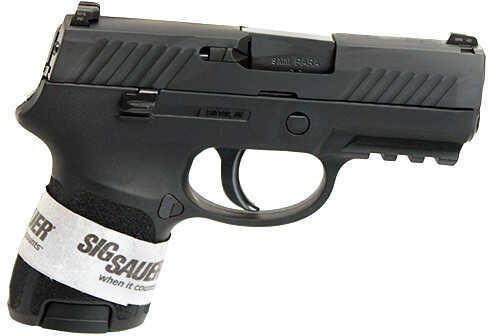 "Pistol Sig Sauer P320 Subcomp 9mm Black Nitron Rail 3.6"" Barrel 12 Rounds, 2 Mags"