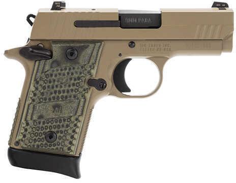 "Sig Sauer P938 Scorpion 9mm Luger 3"" Barrel 6 Round Flat Dark Earth Semi Automatic Rifle 938-9-SCPN"