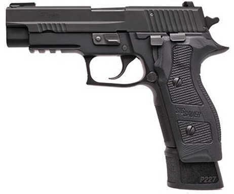 "Sig Sauer P227 Tacops Enhanced 45 ACP 4.4"" Barrel 14 Round Black Semi Automatic Pistol E27R-45-TACOPS-E"