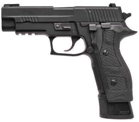 "Sig Sauer P227 Tacops 45ACP 4.4"" Barrel 14 Round G10 Grip Black Finish Semi Automatic Pistol E27R45TACOPSE"