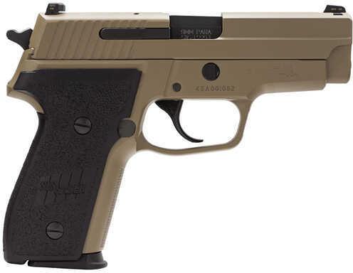"Sig Sauer M11A1 9mm Luger 3.9"" Barrel 15 Round Nitron Night Sights SRT Desert Tan Semi Automatic Pistol M11A1D"