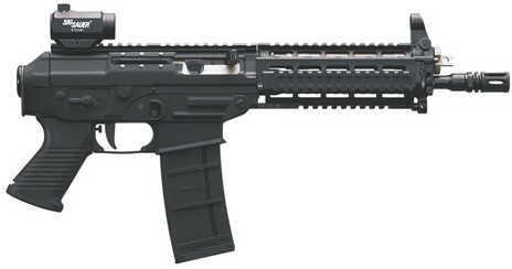 """Sig Sauer P5.56 SWAT    10"""" Barrel   30 Round   Quad Rail    Black   Semi Automatic Pistol P55610BSSMR"""