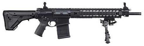 """Sig Sauer 716 Precision Marksman 308 Winchester/7.62mm NATO 18"""" Barrel 20 Round Black Magpul Stock Semi Automatic Rifle R716H18BDMR"""