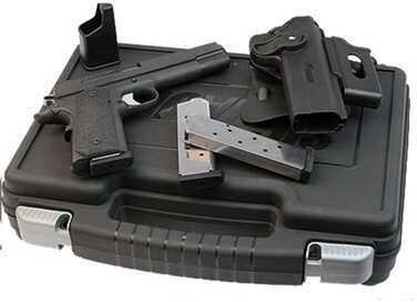 "Pistol Sig Sauer 1911 45 ACP 5"" Black Cs Ergo XT Grip 3 8Rd 191145TACPAC"