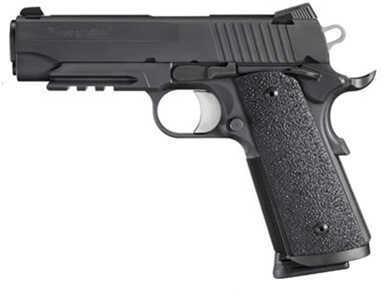 "Sig Sauer 1911 45ACP Tacops Single Action Ergo XT Grip 4.2"" Barrel 8 Round Semi Automatic Pistol 1911CAR45TACOPS"