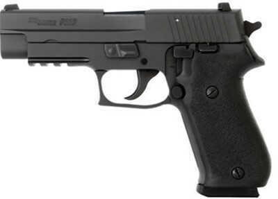 Sig Sauer P220 45ACP Black Stainless Steel Nitron Finish 8 Round Hogue Grip Semi Automatic Pistol 220R45SBSS