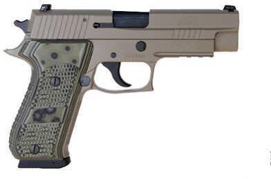 Pistol Sig Sauer P220 45 ACP Scorpion DRK Earth Beaver Tail G10 220R45SCPN
