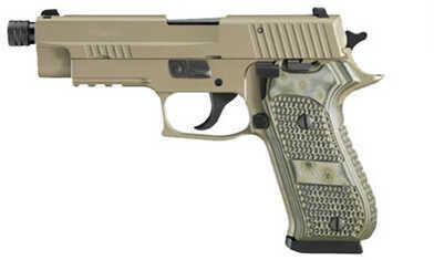 Pistol Sig Sauer P220 45 ACP Scorpion DRK Earth Thrd Barrel 220R45SCPNTB