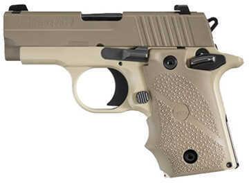 Sig Sauer P238 380 ACP Desert Tan Ambidextrous Safety 7 Round XG Semi Automatic Pistol 238380DESAMBI