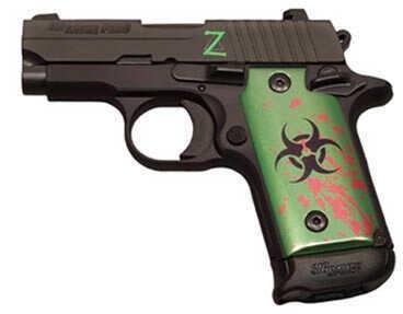 "Sig Sauer P238 380 ACP Zombie 2.7"" Barrel (1 6 Round And 1 7 Round Mag) Semi Automatic Pistol 238380ZOM"