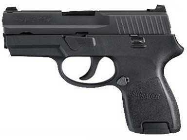 "Sig Sauer P250C 380 ACP 2.7"" Barrel Black Nitron Finish D A Only 15 Round Semi Automatic Pistol 250C380B"