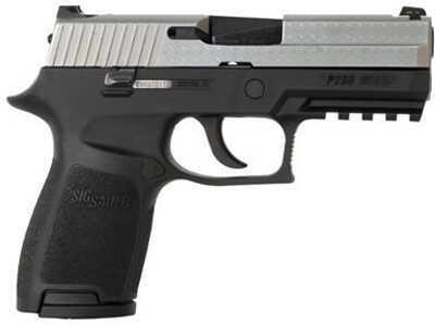 Pistol Sig Sauer P250 9mm Luger Compact 2Tone Diamond Plate 250C9DP