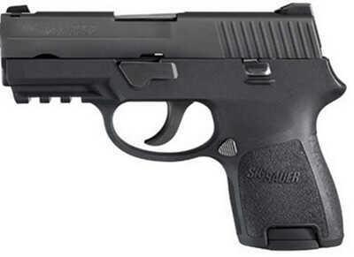 Sig Sauer P250 9mm Luger Black Nitron Med Grip Mod 1913Rail Pistol 250SCR9BSS