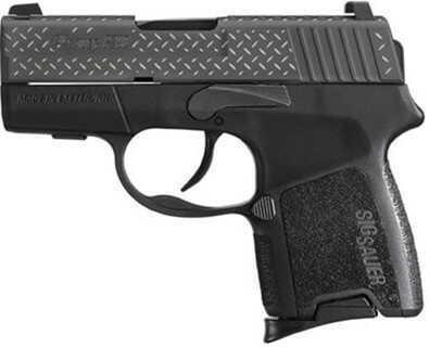 Sig Sauer P290 9mm Luger Black Nitron DIA PLT Restrike 8Rd Pistol 290RS9BDP