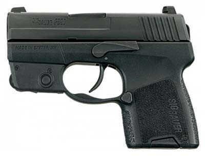 Pistol Sig Sauer P290 9mm Luger Black Nitron Restrike Lasermod 8Rd 290RS9BSSL