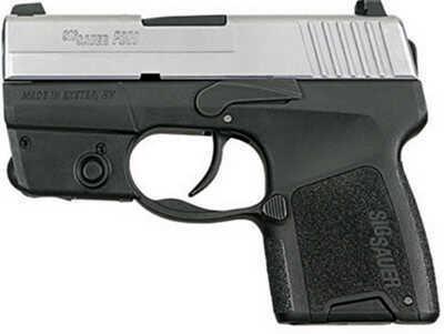 Sig Sauer P290 9mm Luger 2Tone Restrike Lasermod 8Rd Pistol 290RS9TSSL